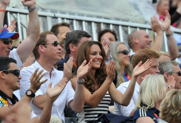 Prince William, Duchess of Cambridge, and Prince Harry  (Splash)