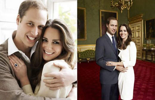 Prince William and Kate Middleton's engagement photos (2010)