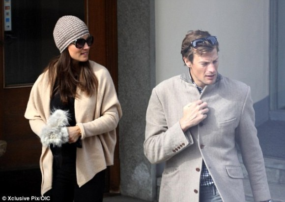 Pippa and Nico in St. Moritz, Switzerland (March 2013)