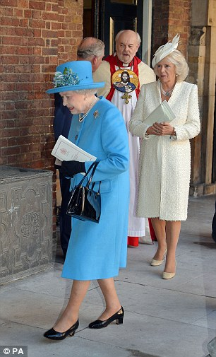 The Queen and the Duchess of Cornwall