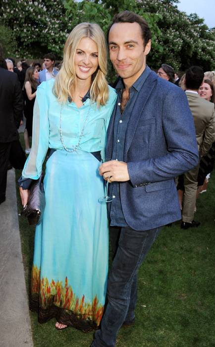James and Donna at the Serpentine Summer Garden Party (June 2013)