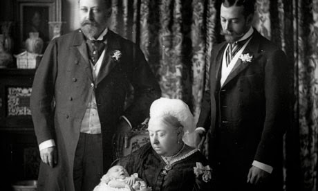 Queen Victoria and Three Future Monarchs (1894)
