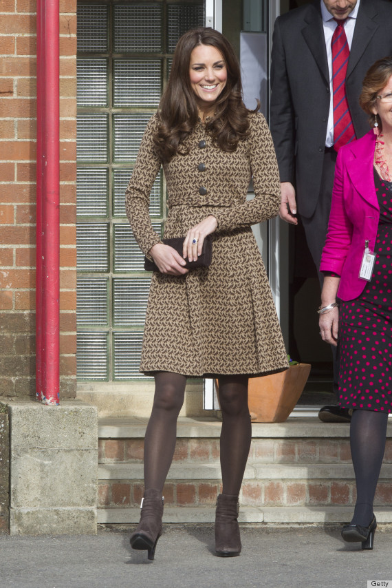 Duchess Of Cambridge Visits Oxford