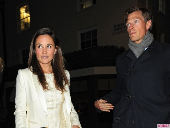 Pippa Middleton and Nico Jackson in April 2013 [Photo Courtesy Celebuzz]