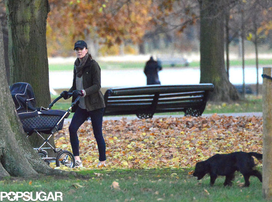 Duchess of Cambridge with Prince George and Lupo