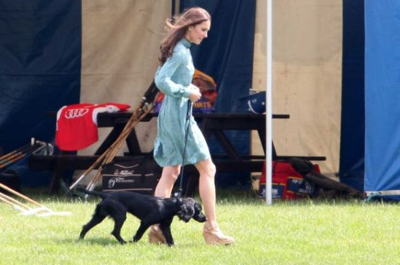 Kate Middleton with Lupo-1562118