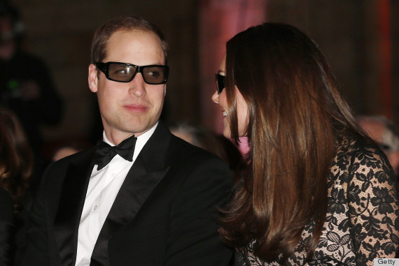 The Duke And Duchess Of Cambridge Attend Screening of David Attenborough's Natural History Museum Alive 3D