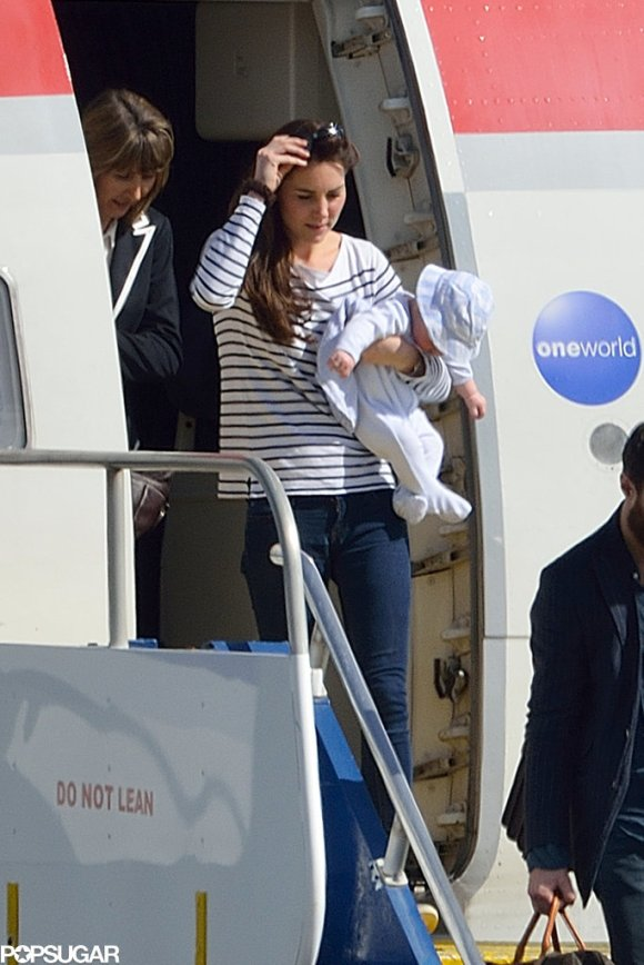 Pictures-Prince-George-His-First-Vacation-1