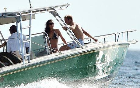The Duke and Duchess of Cambridge on holiday in Mustique, 2009 (Photo Courtesy of SPLASH)